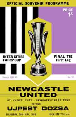 Newcastle United v.Ujepest Doza